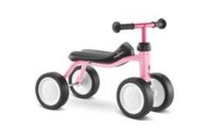 Puky PUKYlino Loopfiets (4-wielen) - Roze
