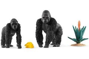 Schleich Schleich Etende gorilla's