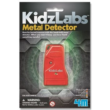 4M KidzLabs Science Card - Metaal detector