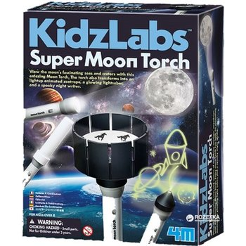 4M KidzLabs - Super zaklamp maan