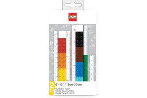 Juratoys LEGO Bouwbare liniaal 2-in-1 (15-30cm)
