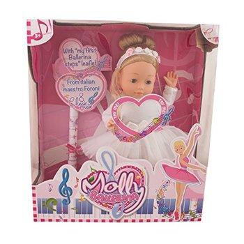 Bambolina Molly Ballerina Pop 40cm met pianomuziek + balletschoenen kids