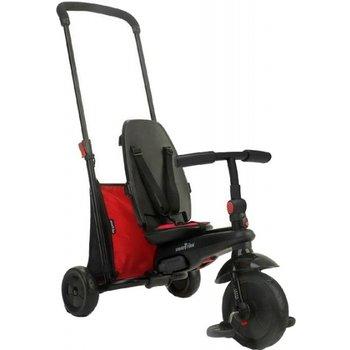 6-in-1 Folding Trike 400 Driewieler met zonnekap - zwart/rood
