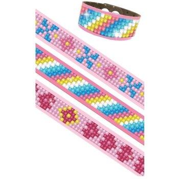 Diamond Dotz - Dotzies Armbanden (3stuks) - pinks