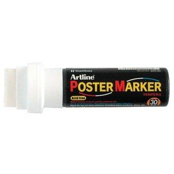 ARTLINE Poster Marker Tempera 30mm - wit