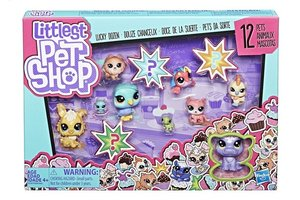 Hasbro Littlest Pet Shop Lucky Dozen - 12stuks
