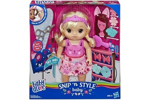 Hasbro Baby Alive - Snip 'n Style Baby Blond