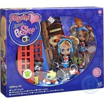 Hasbro Blythe pop met 2 dieren