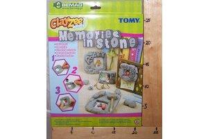 Tomy Clayzee steenlijstjes