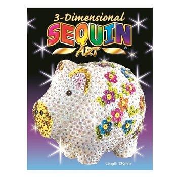 3D Sequin Art - Varken