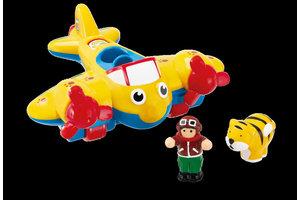Wow Johnny Jungle Plane - Vliegtuig