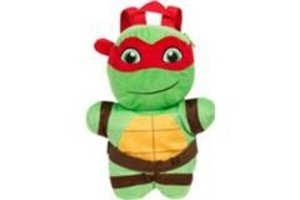 Sambro Teenage Mutant Ninja Turtles - Rugzak/knuffel pluche Michelangelo