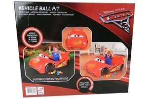 Sambro Disney Cars 3 - Lightning McQueen Ballenbad + 10 ballen