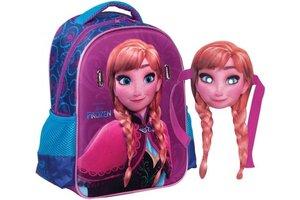 Disney Frozen Rugzak Junior Anna met afneembaar masker