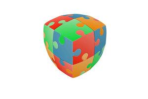Eureka V2 puzzel kubus