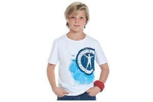 Campus 12 - T-shirt en bandana - 128 (jongens/meisjes)
