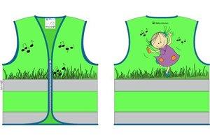 Rube & Rutje - Veiligheidsvestje Rutje (groen) 6-9jaar