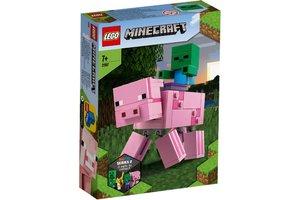 LEGO LEGO Minecraft BigFig Varken met Babyzombie