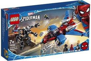 LEGO LEGO Marvel Spiderman - Spiderjet vs. Venom Mecha