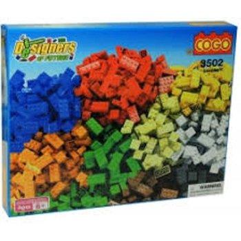 Cogo Blocks DESIGNERS - 550stuks
