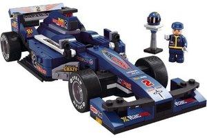 Sluban Formula 1 - F1 Racewagen (blauw)