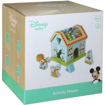 Activiteitenhuis (hout) - Mickey Mouse