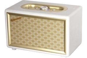 Roadstar Vintage bluetooth speaker - cream