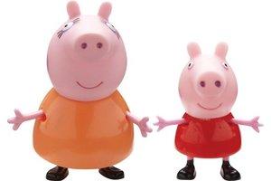 Giochi Preziosi Peppa Pig - Figuur (groot & klein) 2-pack
