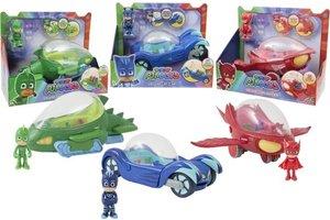 Giochi Preziosi PJ Masks - Deluxe voertuig + figuur