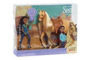 Giochi Preziosi Spirit - Paard 18cm en pop 12cm