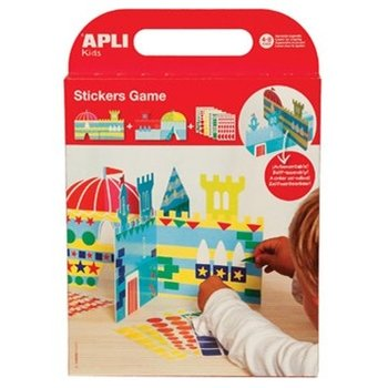 apli stickerspel kasteel