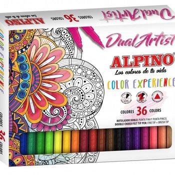 Alpino Viltstiften Color Experience met duo punt - 36stuks