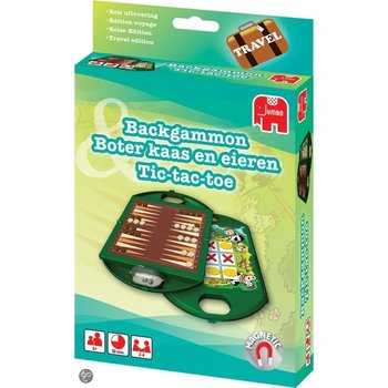 Jumbo Backgammon en tac-tac-toe