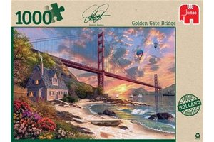 Jumbo Puzzel (1000stuks) - Premium Collection - Golden Gate Bridge, San Francisco