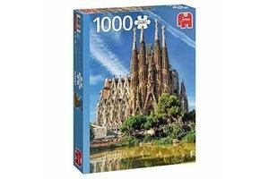 Jumbo Puzzel (1000stuks) - Premium Collection - Sagrada Familia View, Barcelona