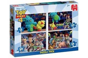 Jumbo Puzzel 4-in-1 (12/20/30/36stuks) Disney ToyStory 4