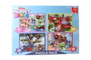 Jumbo Puzzel 4-in-1 (12/20/30/36stuks) Disney Junior Muppet Babies