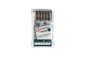 Talens Sakura Zentangle Tool Set - 6stuks
