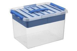 Suware Q-line MultiBox 22L - transparant/blauw