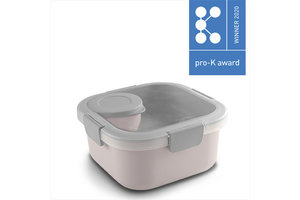 Suware Sigma Home Food to go Lunch kit - roze/lichtgrijs