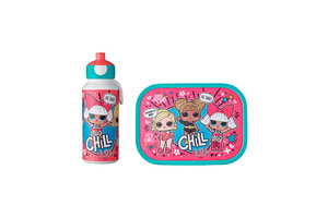 mepal Lunchset campus (drinkfles pop-up + lunchbox) - L.O.L. Surprise!