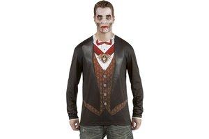 fotorealistisch shirt vampier