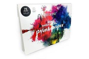 Talens Talens Ecoline Printpapier A4 150gr (75vel) - mix
