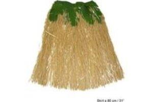 Rok Hawaii 80cm - natuur met bladeren