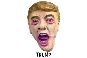 Masker Donald Trump Latex