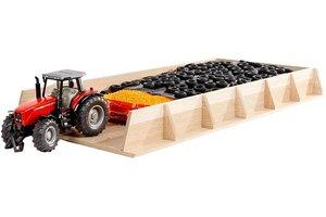 Mega sleufsilo tractoren hout 30x60x6cm