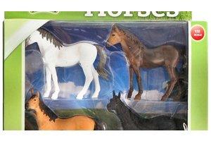 Paarden - 4stuks