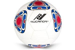 Football Indoor Ipanema III/maat 4 - wit/blauw/rood
