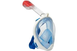 Full Face Mask II - transparant blauw S/M