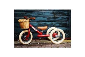Trybike steel - Wicker basket